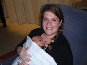 First time I held Nolan